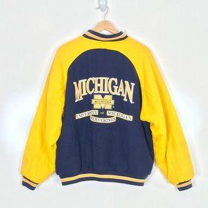 Logo Athletic XL Michigan Varsity Bomber Jacket